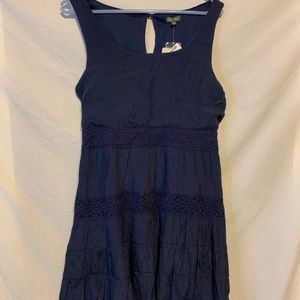 Lily rose Large new navy blue sleeveless dress 338